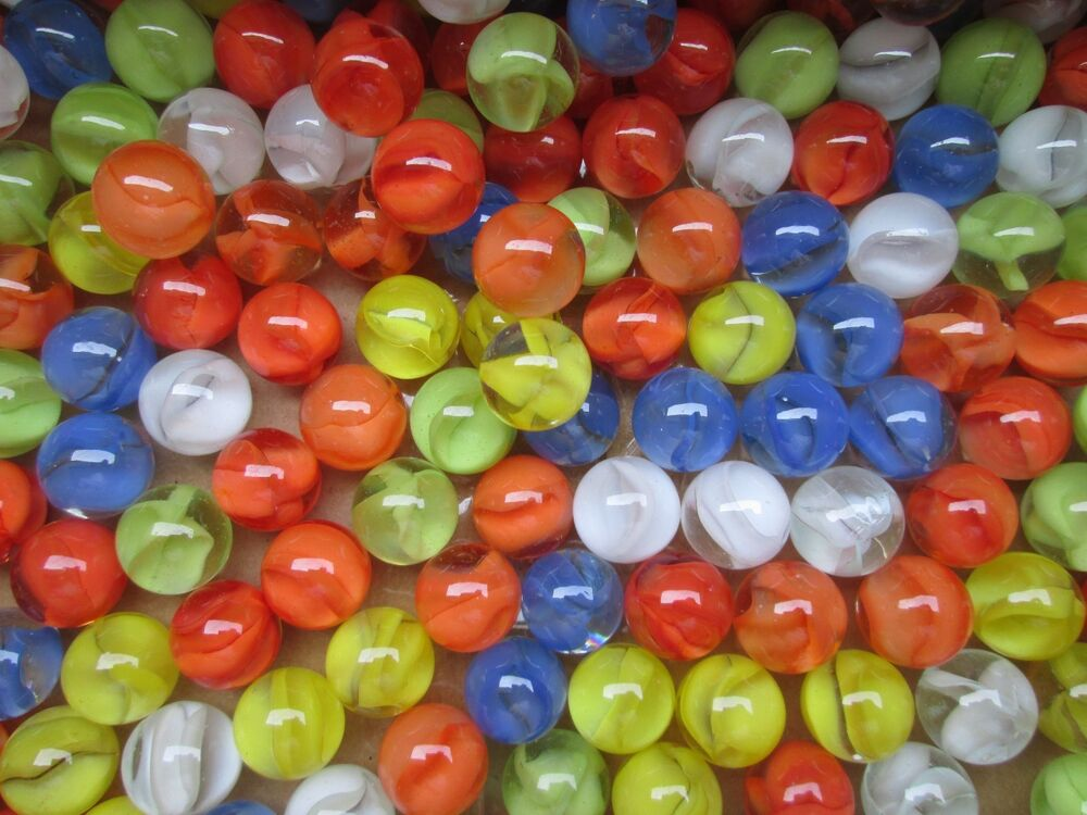 Marbles Bulk Lot 2 Pounds 9 16 Quot Mixed Cats Eye Marble King