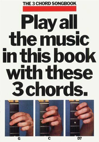 3 Chord Song Bk 1 Guitar Songbook By Divers Auteurs Book The Cheap