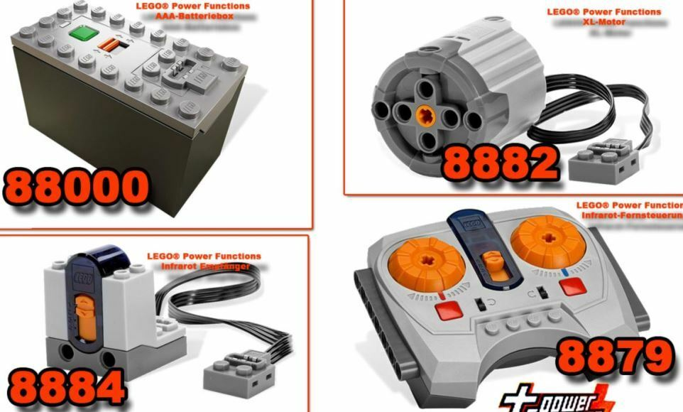 lego technic remote controle power functions 8882 8884 8879 88000 ir rc xl motor ebay. Black Bedroom Furniture Sets. Home Design Ideas