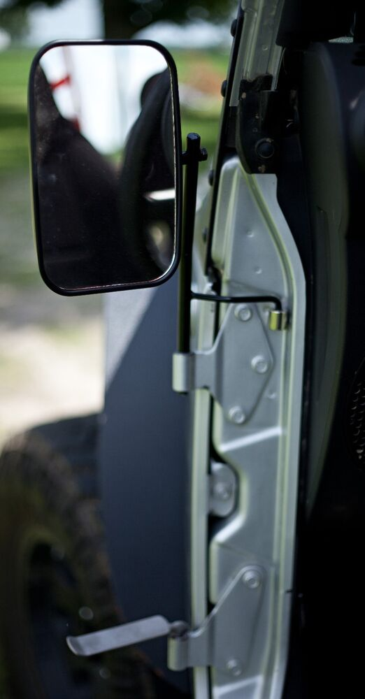 Justaddmud Jeep Yj Door Hinge Mirrors Amp Foot Pegs Package