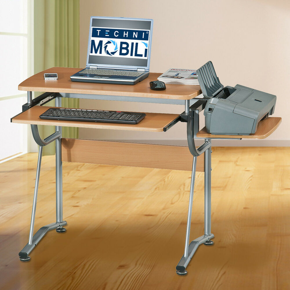 Compact Computer Desk Small Home Student Dorm Laptop PC Table Office