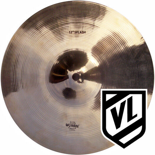 wuhan 12 splash cymbal for your drum set traditional cymbals wusp12 new ebay. Black Bedroom Furniture Sets. Home Design Ideas