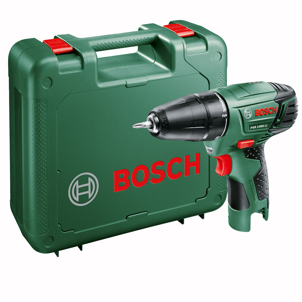 bosch power4all psr 1080 li cordless drill driver body only ebay. Black Bedroom Furniture Sets. Home Design Ideas