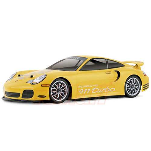 HPI Racing 1:10 200mm Porsche 911 Turbo Clear Body RC Cars