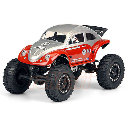 pro line lexan volkswagen baja bug clear body losi 1 18 mini crawler rc 3238 30 ebay. Black Bedroom Furniture Sets. Home Design Ideas