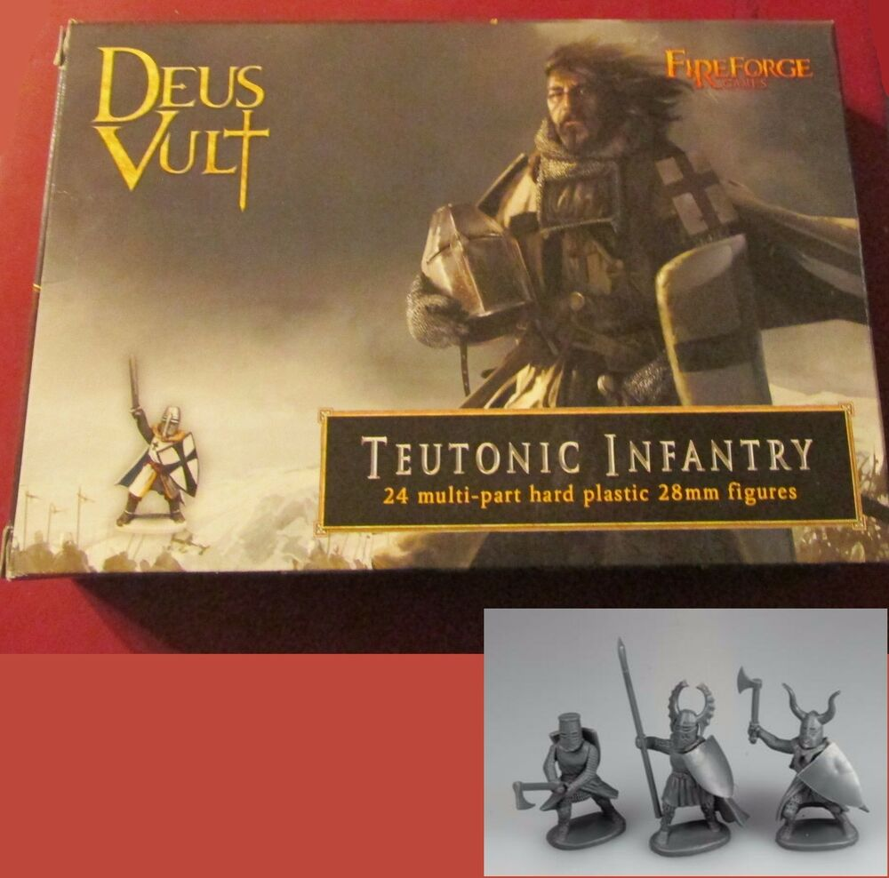 FireForge FFG005 Teutonic Infantry (24) 28mm Miniatures