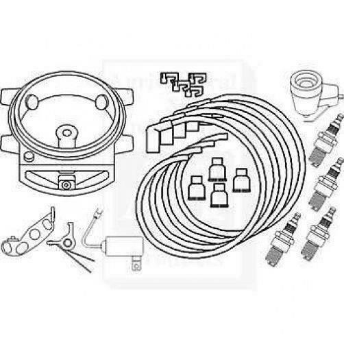 Ford 2n 8n 9n Complete Tune Up Kit Parts Assortment 796789322722