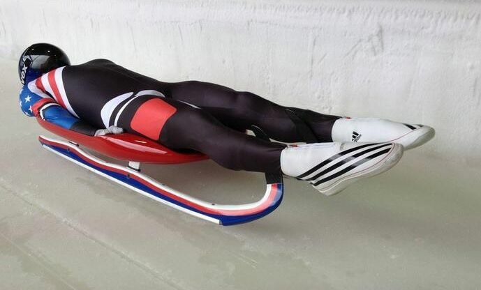 Adidas Luge Adistar Shoes Sleds Suit Bobsled Winter Olympic Games Sleigh US  6.5   eBay