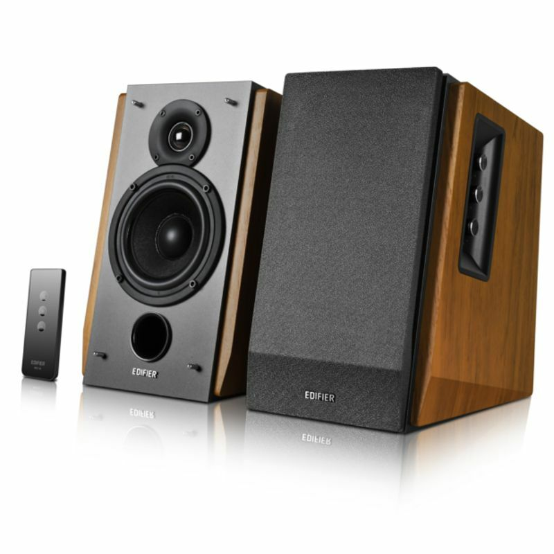 how to connect bookshelf speakers to laptop