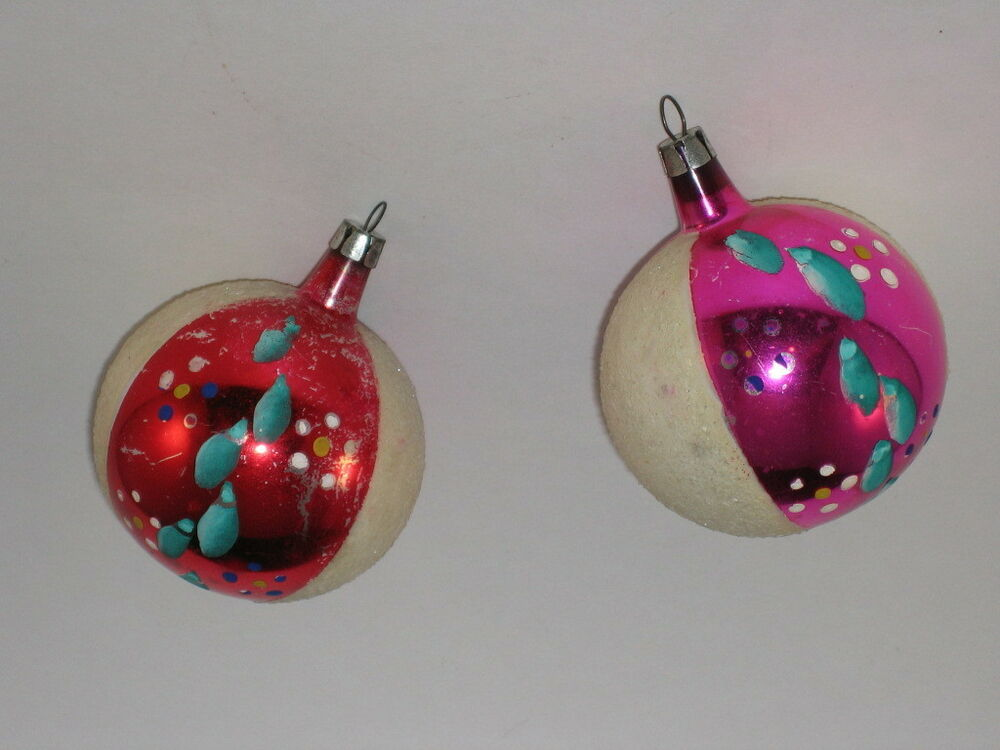Poland Glass Christmas Ornaments Antique Vintage Ornament ...
