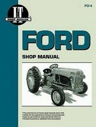 ford i u0026t shop service manual for 8n 9n 2n tractors