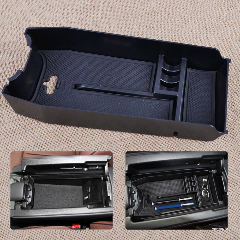 New center console armrest storage holder tray box fit for for Mercedes benz center console lid