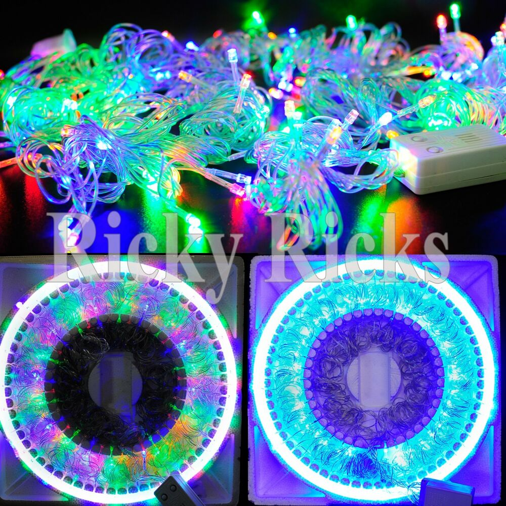 How To String Christmas Tree Lights Today Show : 100 LED Christmas Tree Lights String Outdoor Decorations Show Musical USB Strip eBay