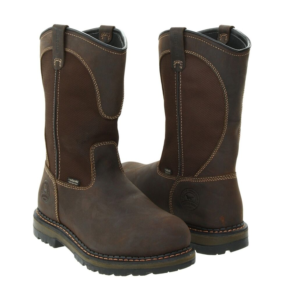 Red Wing Irish Setter Work Boots Pull On Safety Toe 83900 | eBay