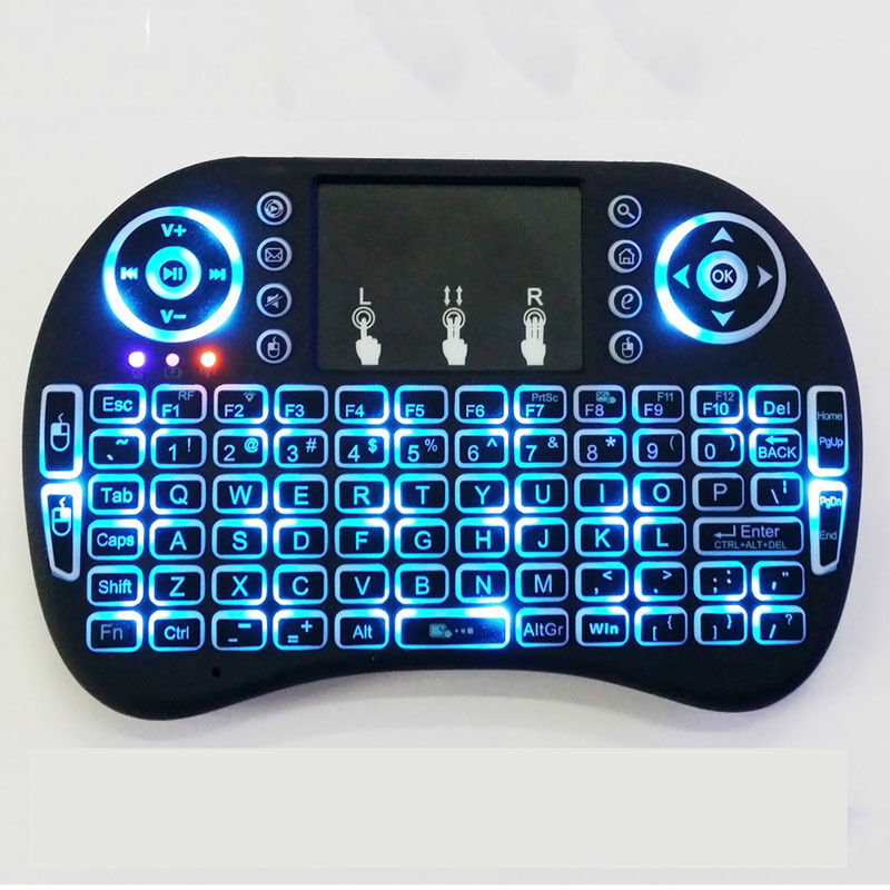 Bluetooth Keyboard For Android Box: 2.4GHz USB Air Mouse Wireless Keyboard Remote (KODI Android Mini PC TV BOX)