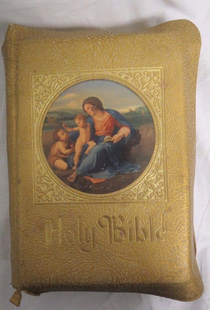 holy bible family rosary commemorative edition the marian