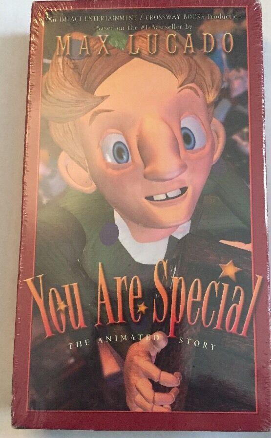 Sell Vhs Tapes >> VHS Video Max Lucado You are Special Animated Story | eBay