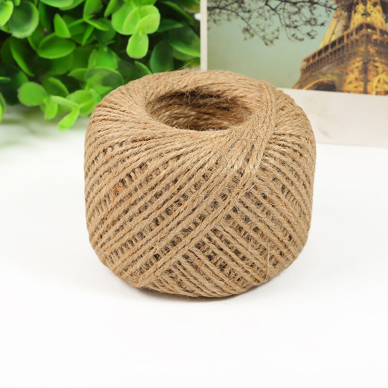 100M/Roll Natural Jute Rope Twine String Cord for DIY ...