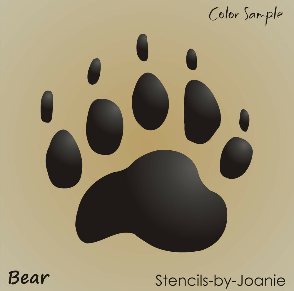 Revered image in bear printable