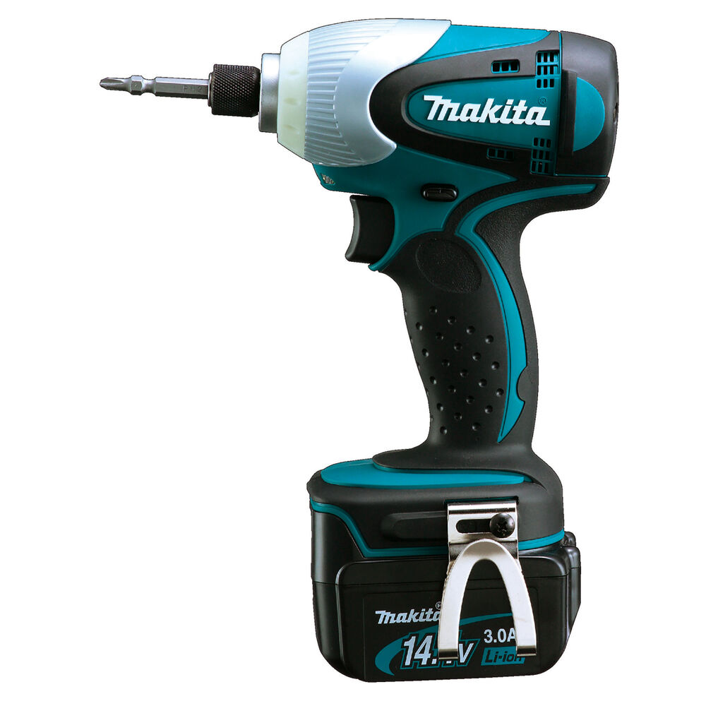 makita btd130frfe 14 4 volt li ion cordless impact driver. Black Bedroom Furniture Sets. Home Design Ideas