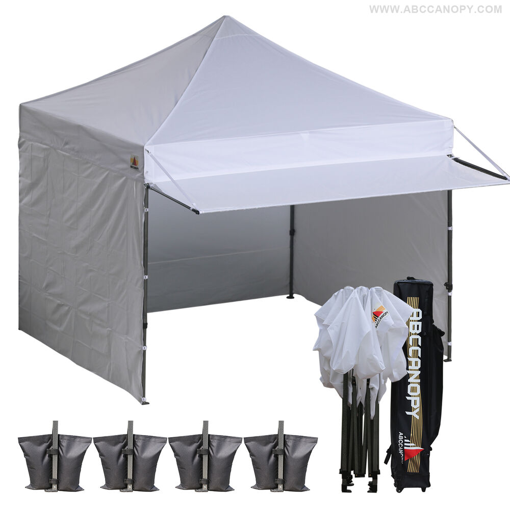 10x10 AbcCanopy Ez Pop Up Commercial Portable Market