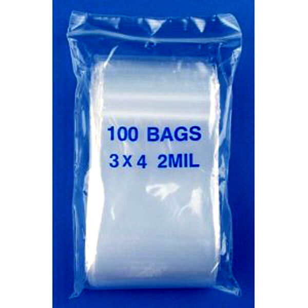 1000 ziplock bags 3 x 4 small reclosable clear poly