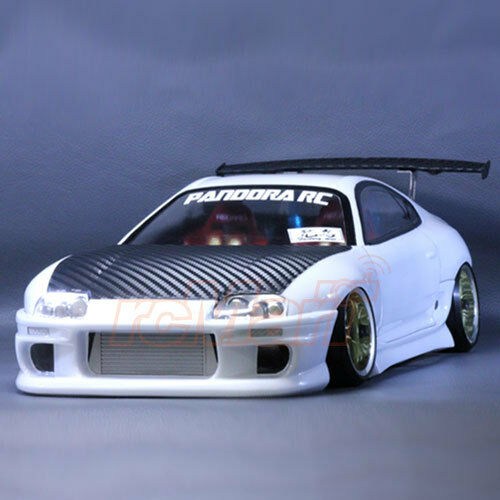 pandora rc cars toyota supra jza80 1 10 drift 198mm clear body on road pab 135 ebay. Black Bedroom Furniture Sets. Home Design Ideas