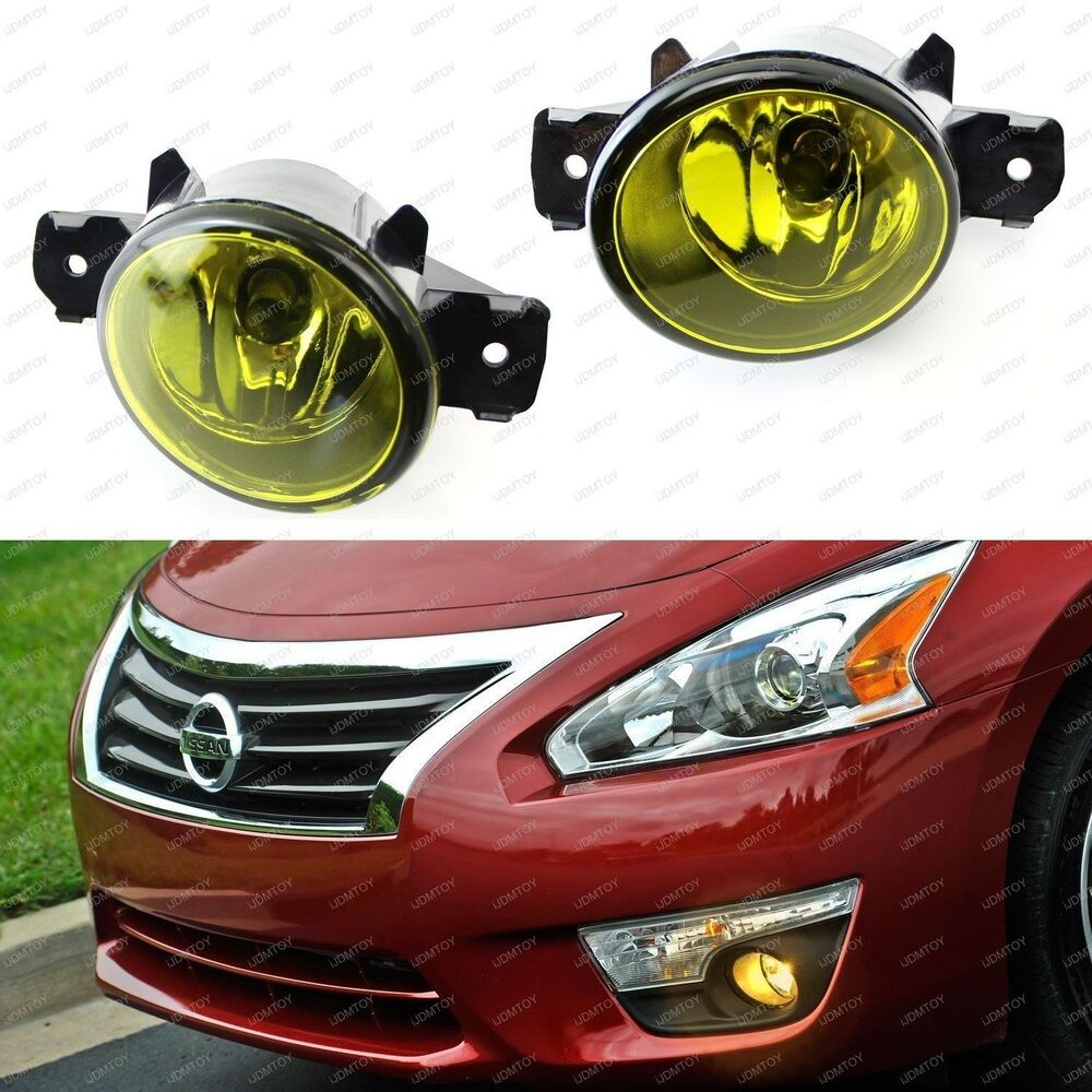 Yellow Oem Replacement Fog Light Lamps W H11 Halogen
