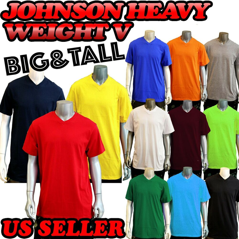 Mens Big And Tall V Neck T Shirts