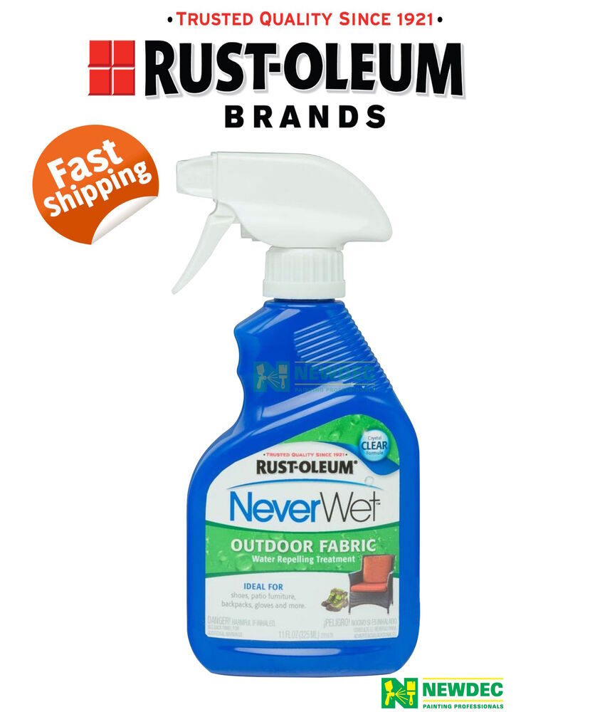 waterproof spray paint neverwet never rust oleum outdoor fabric waterproof 10184