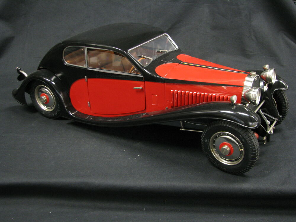 Pocher Bugatti 50T Surprofil U00e9 1932 1 8 Black Red Built