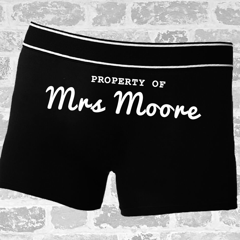 Wedding Morning Gifts For Bride: Mens Wedding Day Morning Gift For Groom Novelty Boxers