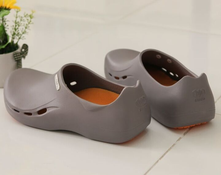 Stico eva non slip shoes comfort clogs water oil safety for Bathroom safety shower shoes