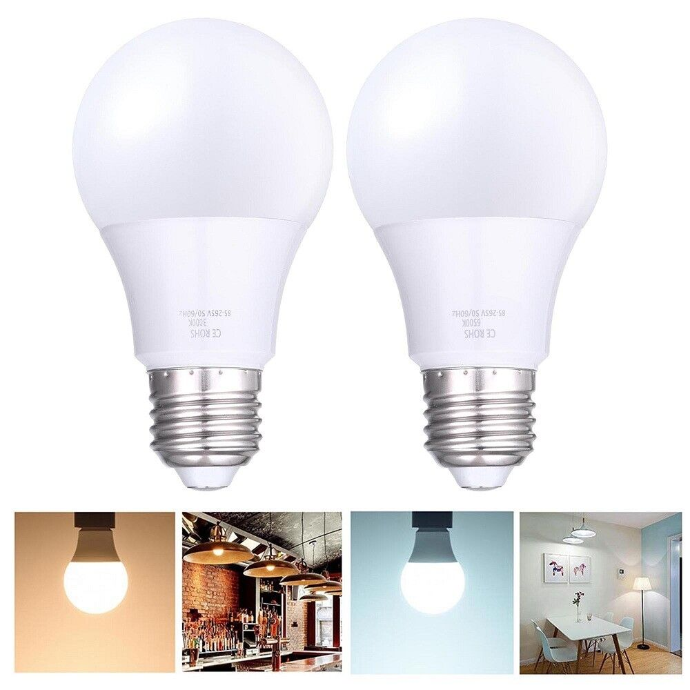Led E27 Energy Saving Light Bulb Warm Or Cool White Lamp 4