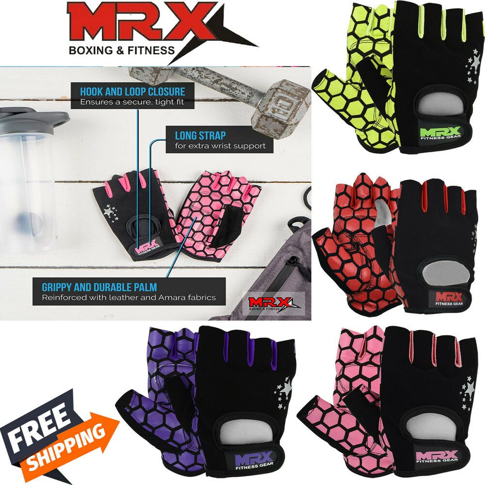 Workout Gloves Womens Nike: Women Fitness Gloves Ladies Weight Lifting Training Glove