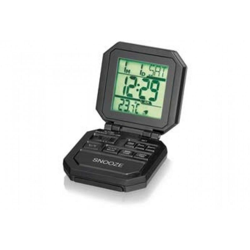 radioshack travel pocket alarm clock 6300251 ebay. Black Bedroom Furniture Sets. Home Design Ideas