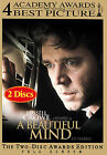 A Beautiful Mind (DVD, 2002, 2-Disc Set, Limited Edition Packaging Full Frame Awards Edition)