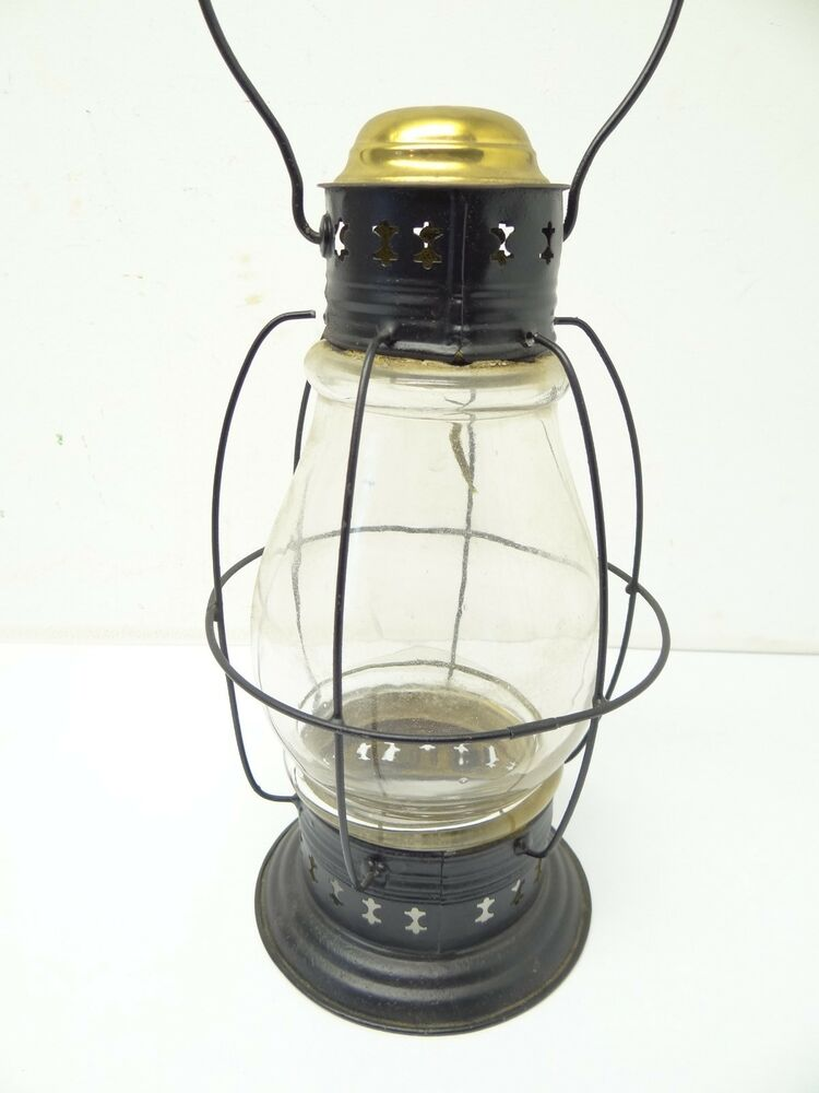 Antique Old Used Metal Black Nautical Maritime Whale Oil ...