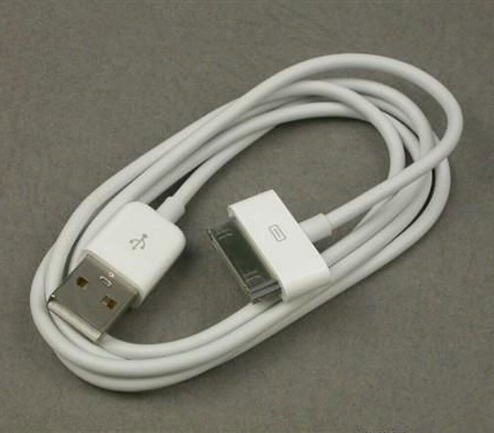 iphone charger cord usb sync charging charger cable cord 30pin for apple ipod 11729