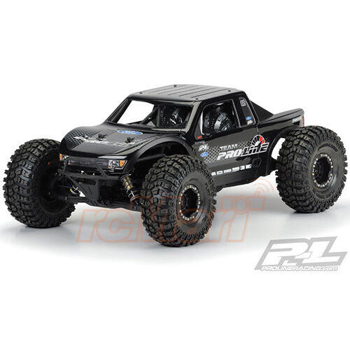 Pro-Line Ford F-150 Raptor SVT Clear Body Axial Yeti 4WD 1