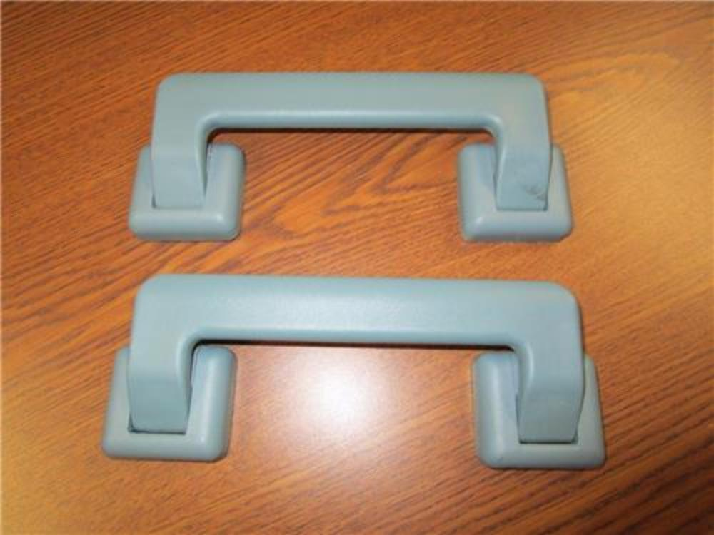 2 seafoam green plastic interior pull grab handles van truck rv conversion ebay. Black Bedroom Furniture Sets. Home Design Ideas