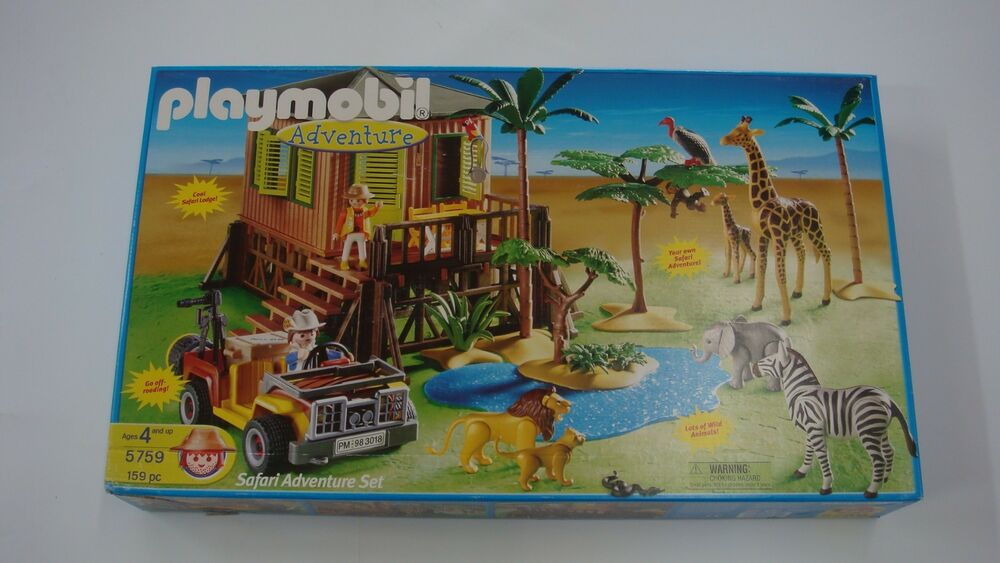 Playmobil 5759 Safari Rare Adventure Set New For