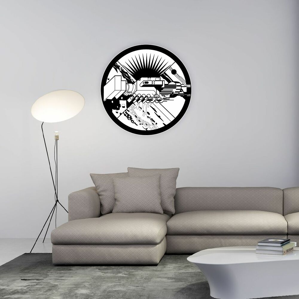 Pink floyd band rock music room wall decor sticker decal for Pink wall art