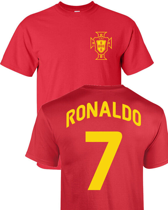 Cristiano ronaldo portugal futbol player soccer team youth for I support two teams t shirt