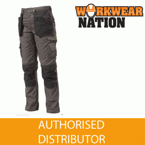 Apache Holster Knee Pad Trouser Workwear Work Cordura APKHT- GREY
