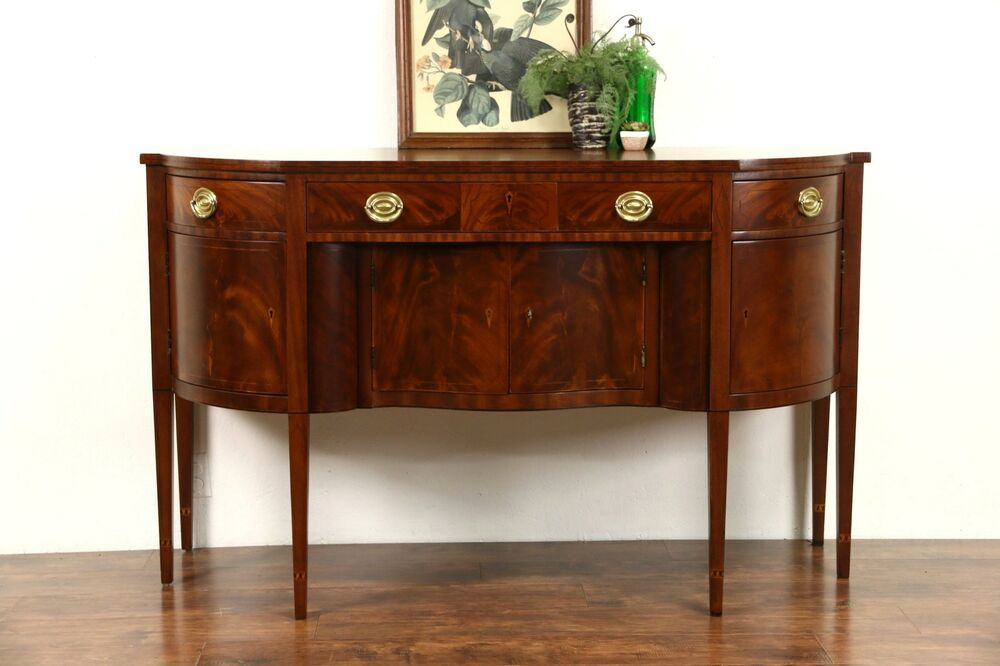 Henredon natchez collection vintage mahogany sideboard for Buffets sideboards