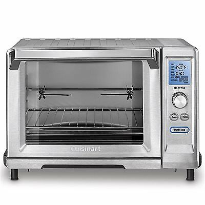 convection toaster oven cuisinart tob 200 rotisserie convection toaster oven 31071