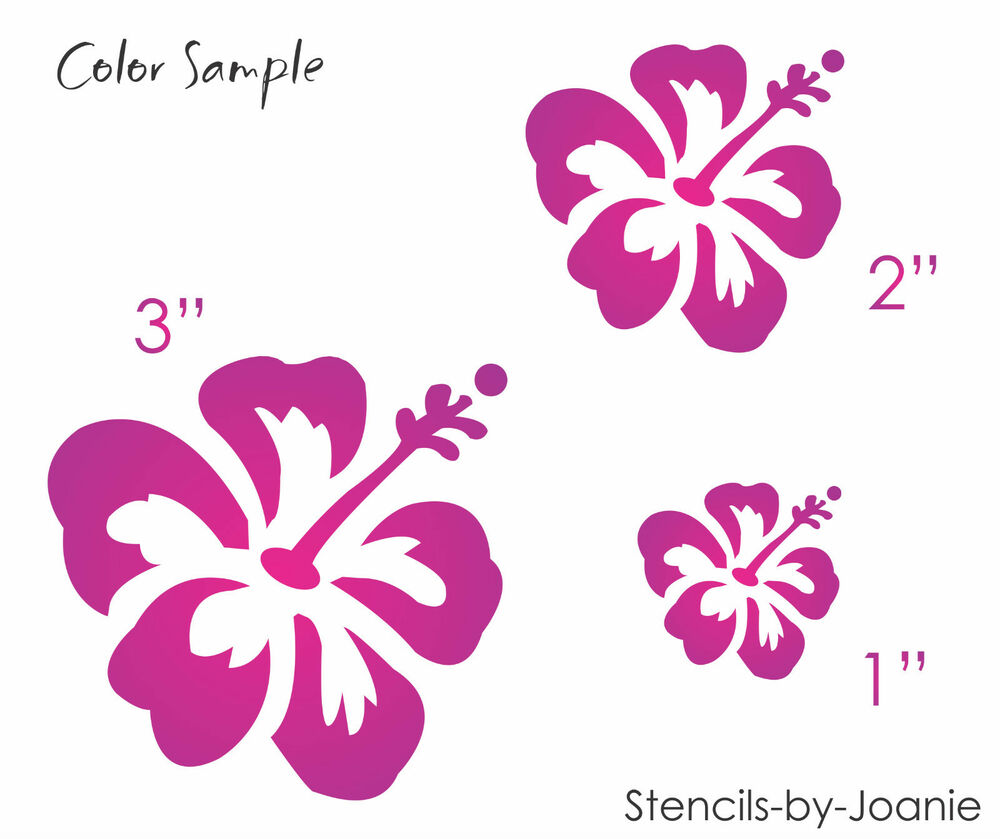 Hibiscus stencil aloha flowers hawaii tropical beach nautical home hibiscus stencil aloha flowers hawaii tropical beach nautical home decor signs ebay izmirmasajfo