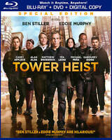Tower Heist (Blu-ray/DVD, 2012, 2-Disc Set, Special Edition Includes Digital...