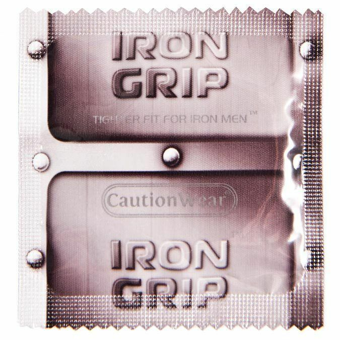 Concurrence iron grip condoms something
